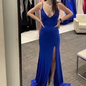 Royal Blue Prom Dress (JVN) by Jovani